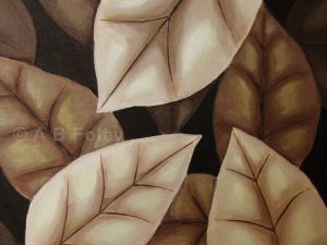 """Autumn Leaves in Sepia"""