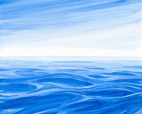 Blue Sea Blue Sky