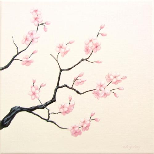 Cherry Branch in Bloom