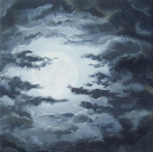 Moon on a Cloudy Night