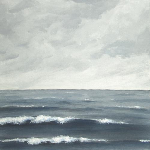 Sea on a Grey Day